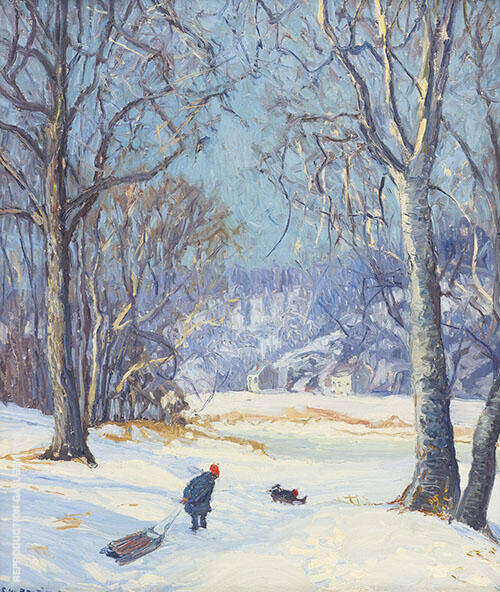 Winter Sports By Edward Willis Redfield