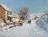 Winter Sunlight 1929 By Edward Willis Redfield