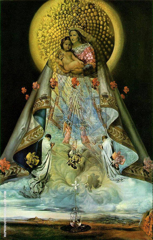 Virgin of Guadalupe 1959 By Salvador Dali