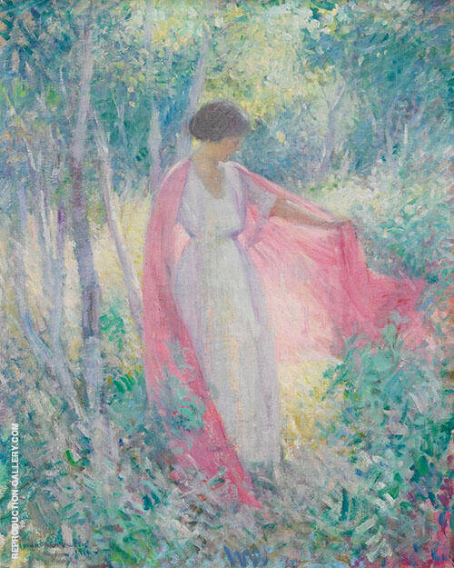 In The Garden 1916 By Edmund William Greacen