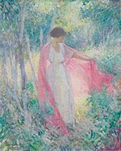 In The Garden 1916 By Edmund William Greacen