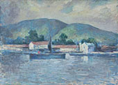 Lake Scene 1941 By Edmund William Greacen