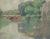 Reflections in a Lake 1909 By Edmund William Greacen