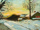 Short Hills 1901 By Edmund William Greacen