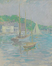 Southport Harbor 1925 By Edmund William Greacen