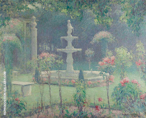 Spring Garden 1909 By Edmund William Greacen