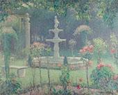 Spring Garden 1909 By Edmund William Greacen
