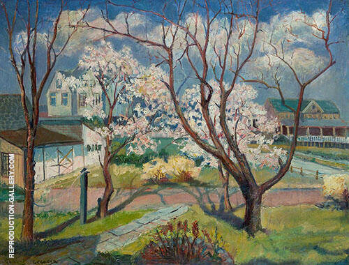 Springtime By Edmund William Greacen