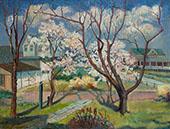 Springtime By Edmund William Greacen