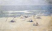 The Beach at East Hampton Long Island By Edmund William Greacen