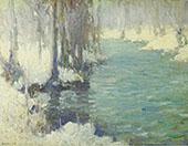 The Mill Stream 1916 By Edmund William Greacen