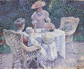 The Tea Table By Edmund William Greacen