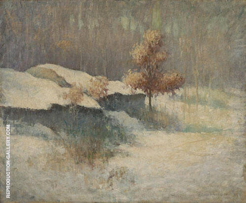 Winter Landscape 1913 By Edmund William Greacen
