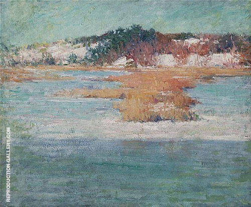 Winter Marshes By Edmund William Greacen