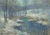 Winter Stream 1920 By Edmund William Greacen