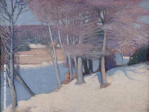 Winter Woods 1911 By Edmund William Greacen