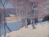 Winter Woods 1911 By Edmund William Greacen