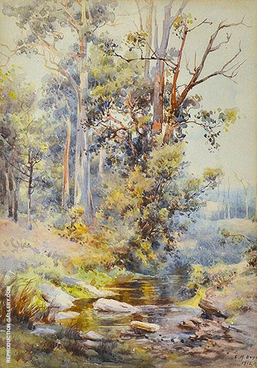 Down The Creek 1912 By Emma Minnie Boyd