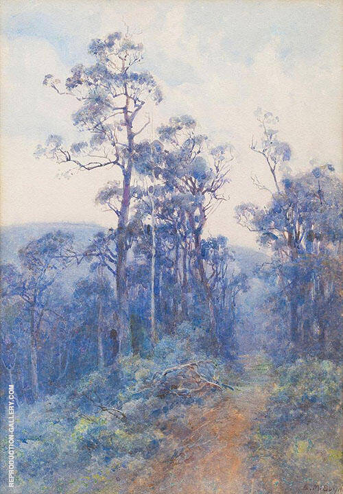 Landscape Painting By Emma Minnie Boyd - Reproduction Gallery