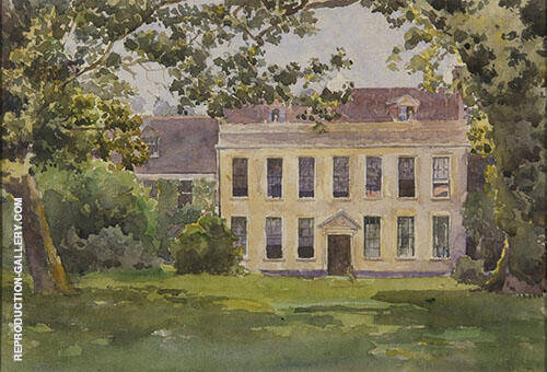 Penleigh House Wiltshire 1891 By Emma Minnie Boyd