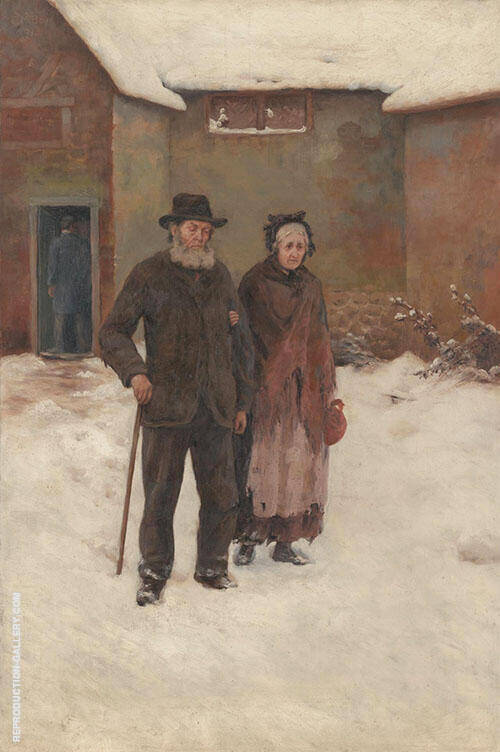 To The Workhouse 1891 Painting By Emma Minnie Boyd - Reproduction Gallery