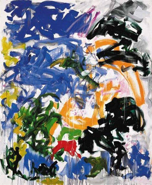 Wind By Joan Mitchell