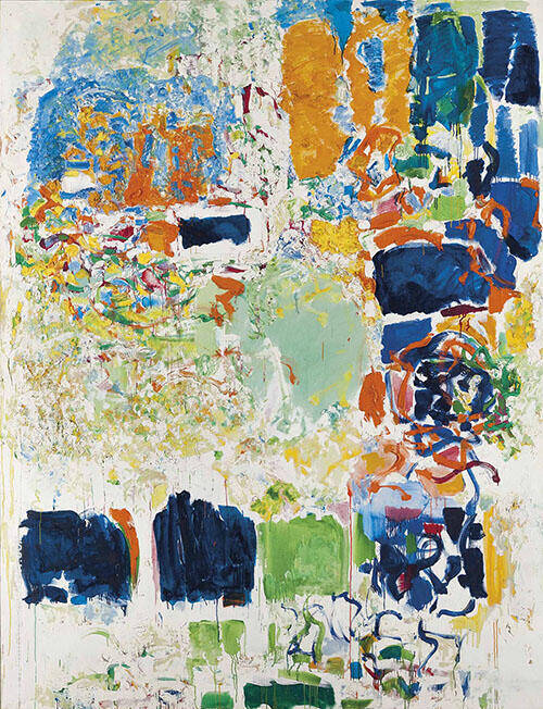 Noon 1970 By Joan Mitchell