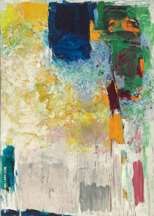 Sally Salut By Joan Mitchell