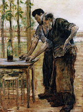 Blacksmiths Taking a Drink By Jean Francois Rafaelli