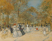 Les Champs Elysees 1890 By Jean Francois Rafaelli