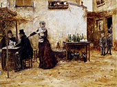 Regulars Cafe By Jean Francois Rafaelli