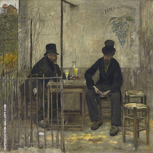 The Absinthe Drinkers 1881 By Jean Francois Rafaelli