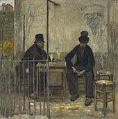 The Absinthe Drinkers 1881 By Jean Francois Rafaelli