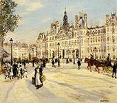 The Hotel de Ville de Paris By Jean Francois Rafaelli