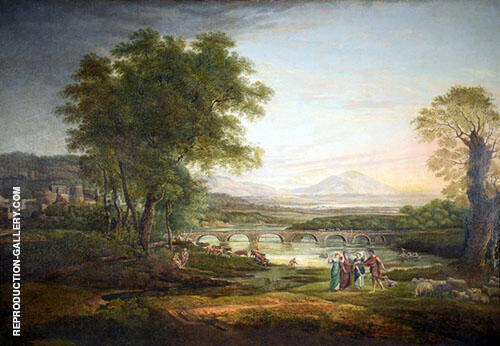 Apullia in Search of Appullus Vide Ovid By Claude Lorrain