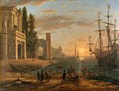 A Seaport By Claude Lorrain