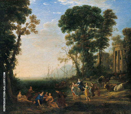 Scene with Europa and The Bull 1634 By Claude Lorrain