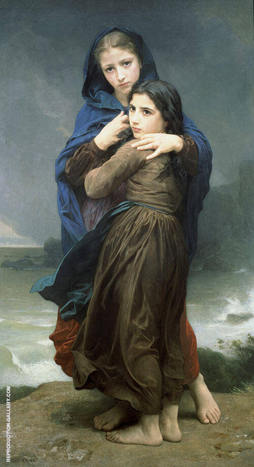 Lorage By William-Adolphe Bouguereau