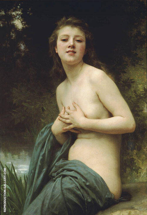 Spring Breez By William-Adolphe Bouguereau