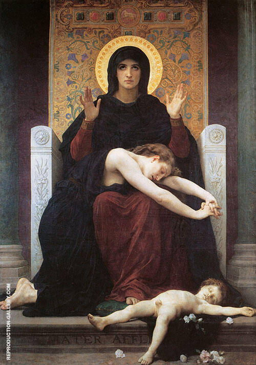 Virgin of Consolation By William-Adolphe Bouguereau