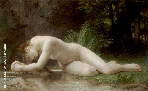 Biblis 1884 By William-Adolphe Bouguereau