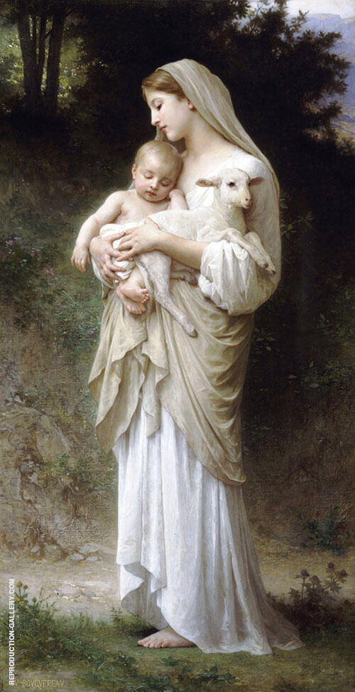 Innocence By William-Adolphe Bouguereau