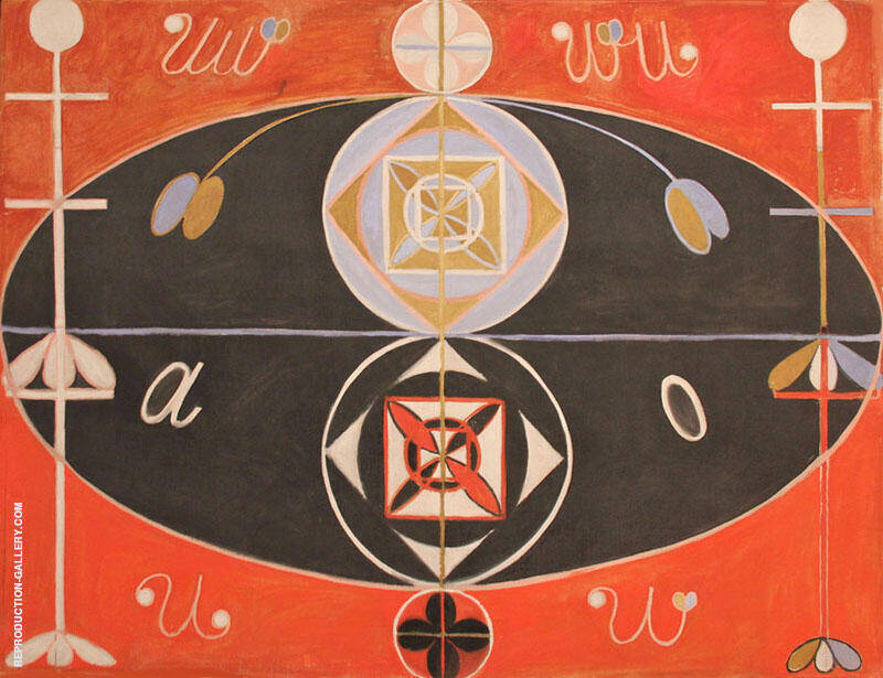 Abstraction VI Painting By Hilma AF Klint - Reproduction Gallery