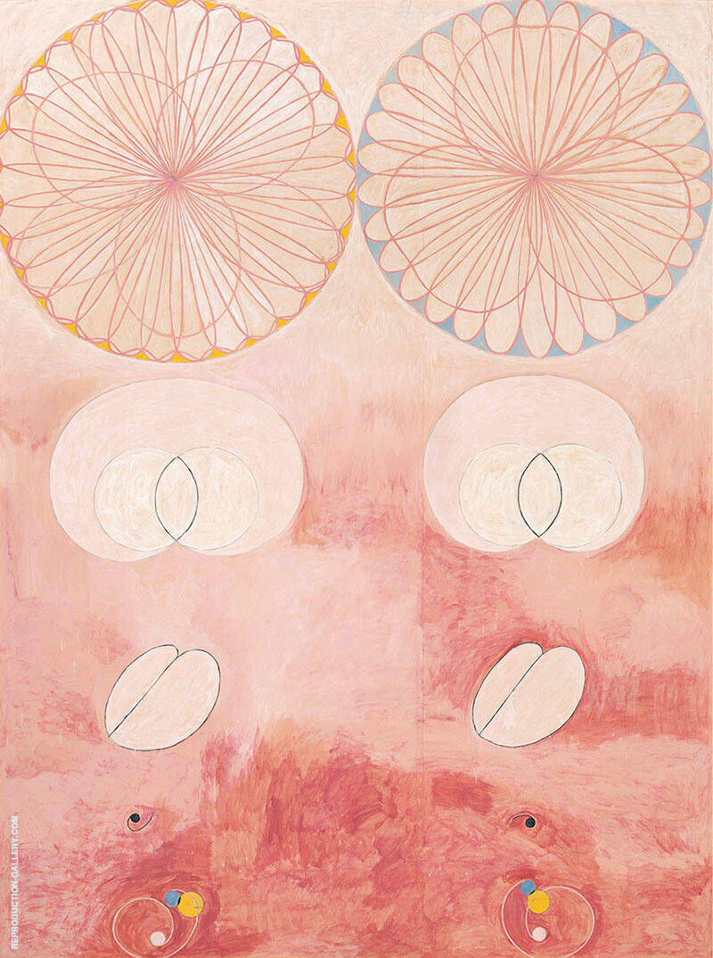 No 9 Old Age 1907 Painting By Hilma AF Klint - Reproduction Gallery