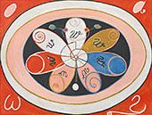 No 15 Evolution 1908 By Hilma AF Klint