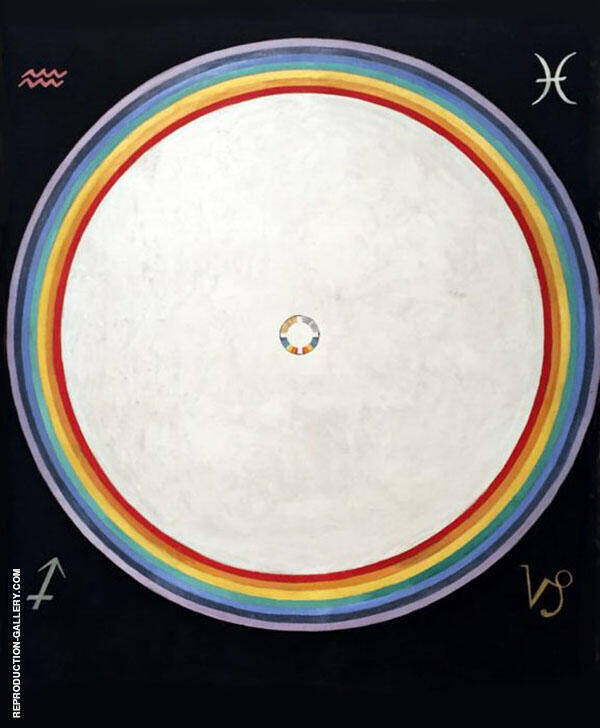 No. 38 The Dove No. 14 1915 Painting By Hilma AF Klint