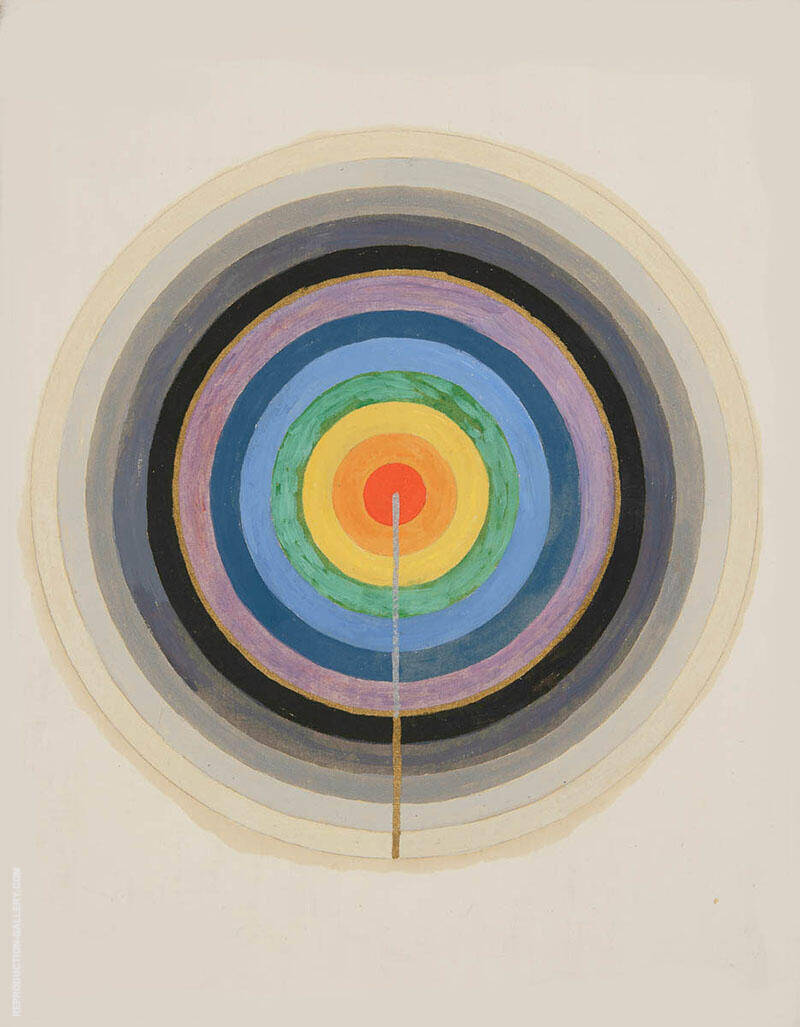 Picture of the Starting Point 1920 By Hilma AF Klint