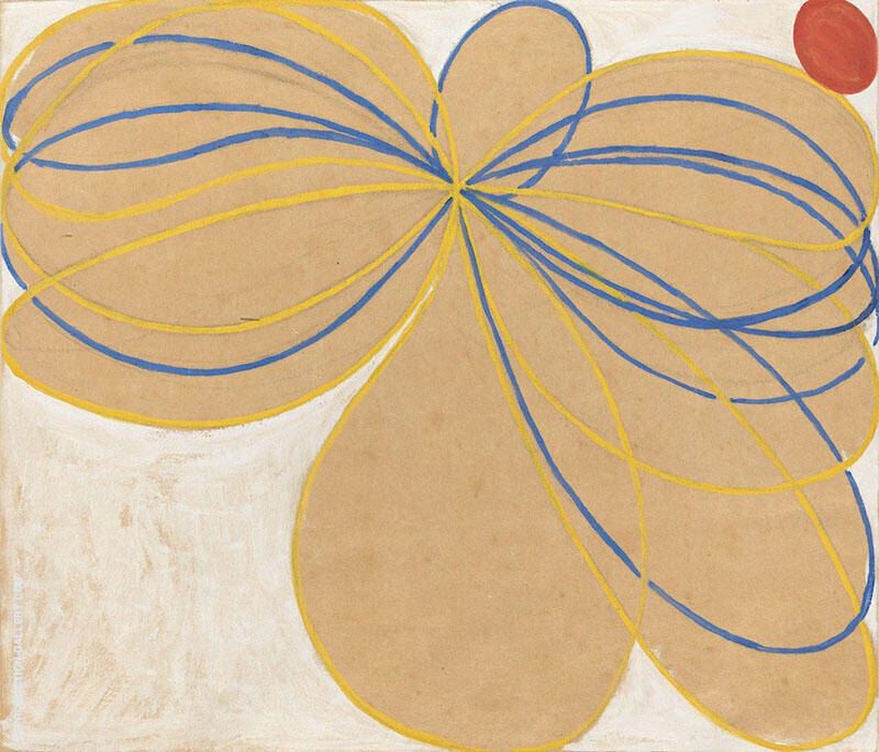 Group V The Pointed Star Painting By Hilma AF Klint - Reproduction Gallery