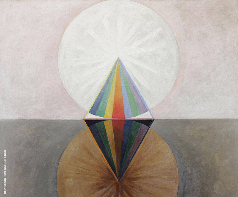 Group IX The Swan No 12 1915 By Hilma AF Klint