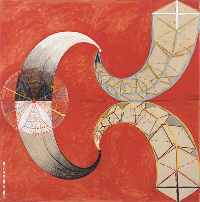The Swan No 9 Group IX Painting By Hilma AF Klint - Reproduction Gallery